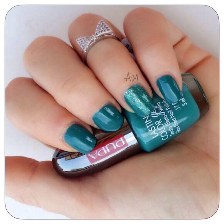 Fantastico  Pupa n.110 e Diamond Dust 006  #nails #love #smalti @pupamilano
