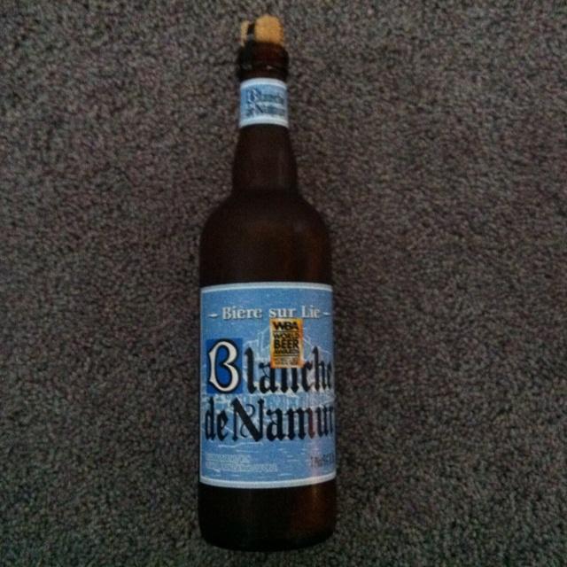 THE BEST BEER ON THE PLANET! Blanche de Namur Belgian beer brewed with coriander,  orange skin, and licorice.