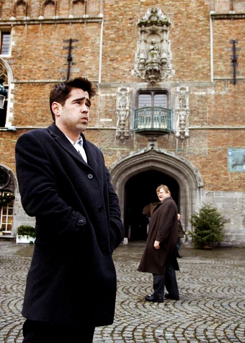 In Bruges: darkly comic movie with Colin Farrell, filmed in Bruges.