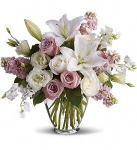 Isn't It Romantic Bouquet  Felthousen's Florist & Greenhouse  in Schenectady NY 800-278-2634
