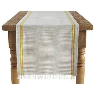 Transitional Table Runners by Coyuchi