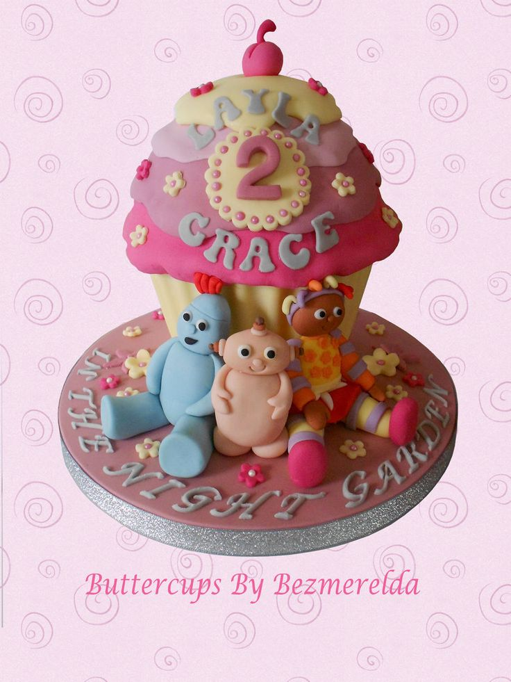 Care Bears Giant Cupcake & 31 best Fondant Giant Cupcake Cakes images on Pinterest | Cupcake ...