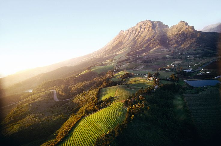 Franschhoek is one of the many renowned wine regions in Southern Africa.