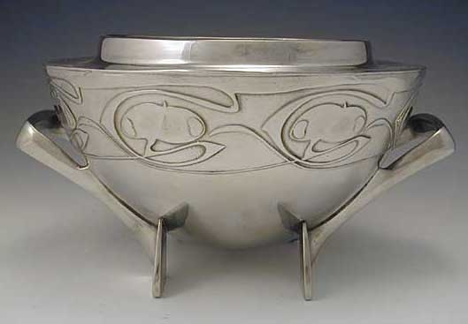 Archibald Knox for Liberty Pewter Rosebowl