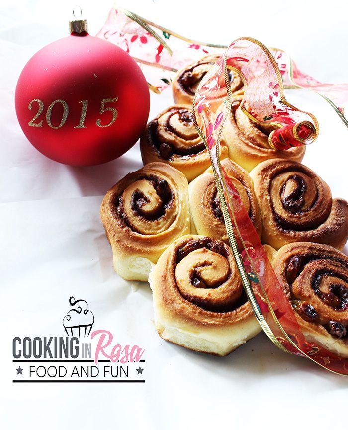 La sorellanza: girelle alla cannella e uvetta   Cooking in Rosa