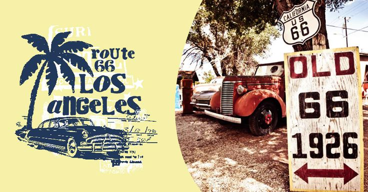 ROUTE 66 - Life is old there, older than the trees, Younger than the mountains, growing like a breeze, Country roads, take me home #route66 #chicago #america #losangeles #car-vintage #dream-car