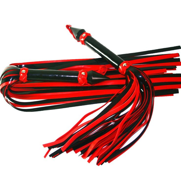 We now have a set of very sharp patent leather floggers and pois in our online store! Check them out here :-)