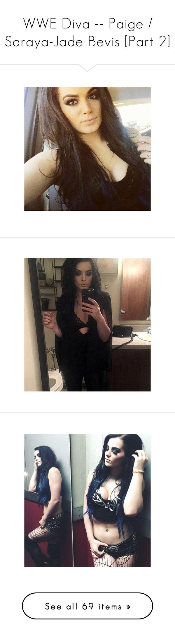 """WWE Diva -- Paige / Saraya-Jade Bevis [Part 2]"" by sarahstardom ❤ liked on Polyvore featuring paige"