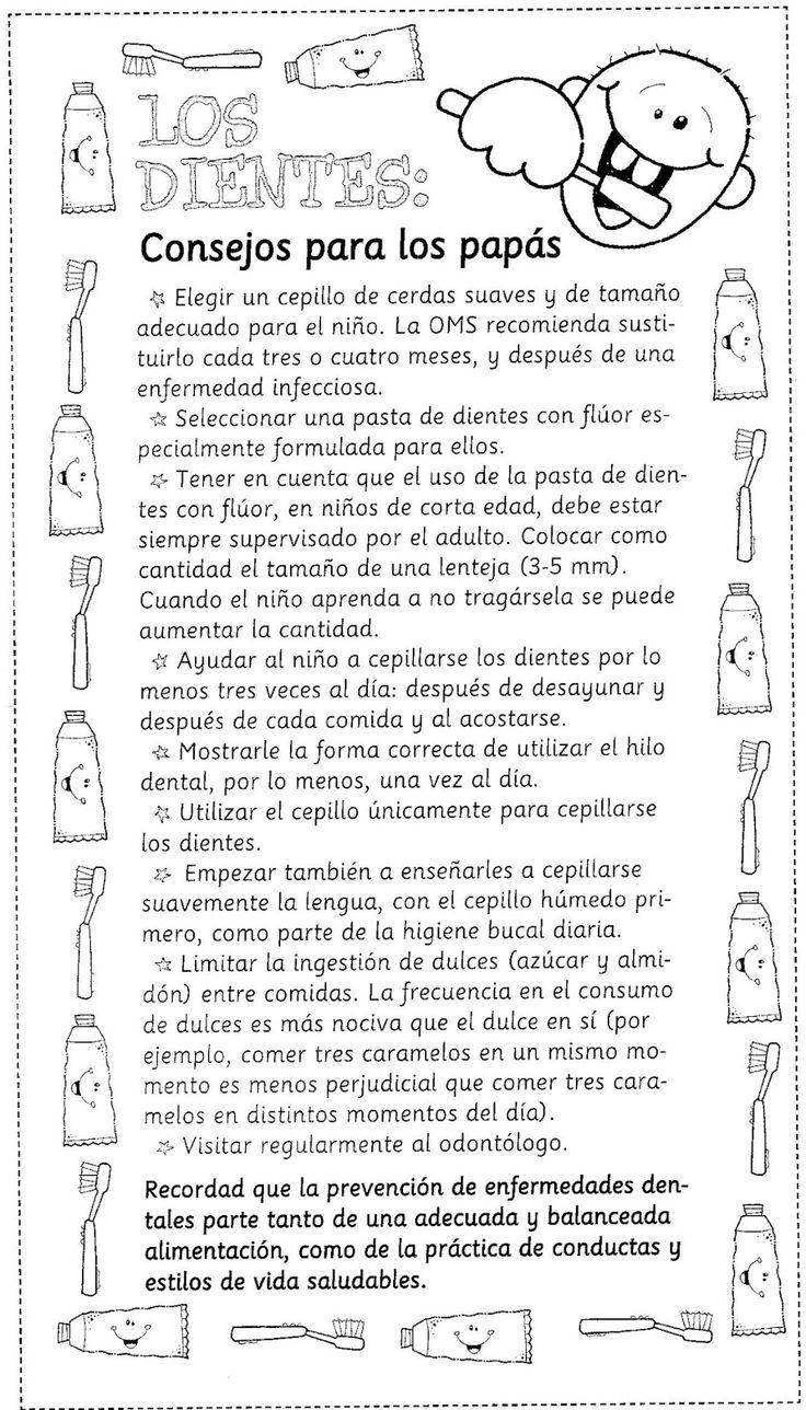 Menta Más Chocolate - RECURSOS PARA EDUCACIÓN INFANTIL: Salud e Higiene Dental