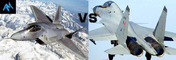 F-22 Raptor VS Su-30MKi