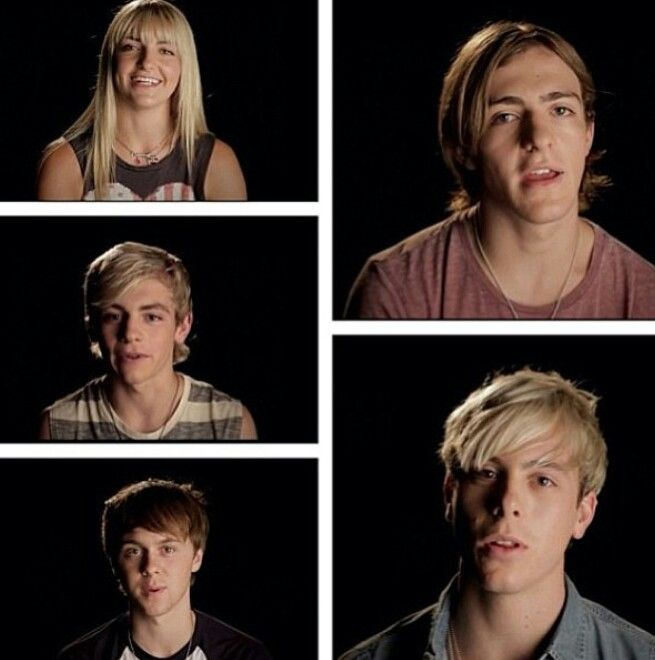 R5 on R5 interview by VEVO screenshots
