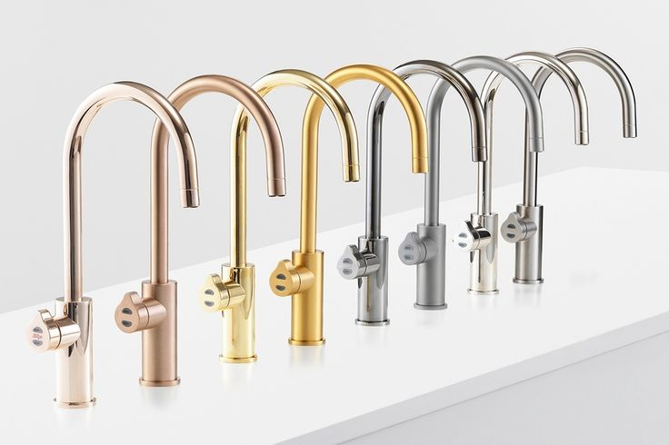 New Zip tap platinum design range ..... 9 metallic finishes ranging from gunmetal to brushed rose gold