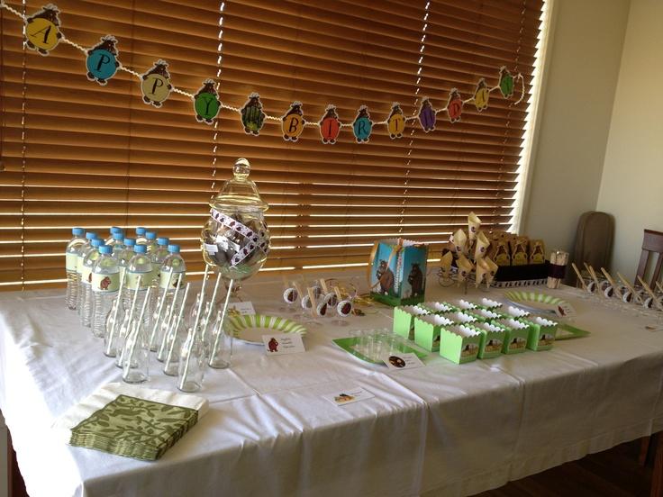 #gruffalo buffet before the food