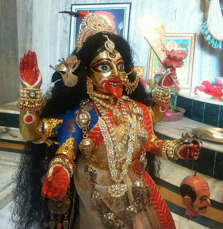 how to talk with maa kali