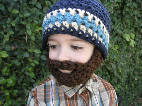 LOL i need to learn how to knit! this would be perrrfecctt for cole nicky!: Babystuff, Kids Stuff, Boys, Kids Beards Beanie, Funny, Beards Hats Bahaha, Hats Baby Stuff, Beanie Hats, Beards Hats I