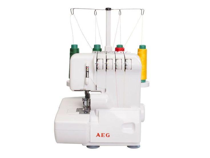 AEG Overlock-Nähmaschine NM-760A 9 Stichprogramme und 5 Sticharten