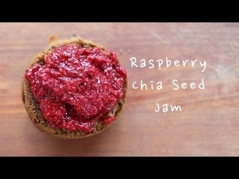 How to make Raspberry Chia Jam - easy and super low in sugar! - YouTube