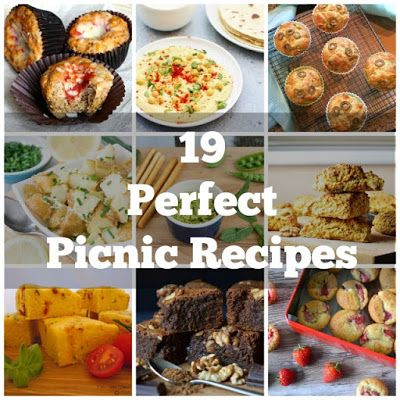 This collection of 19 vegetarian picnic foods provides great inspiration for when you're planning your next family picnicmmer!