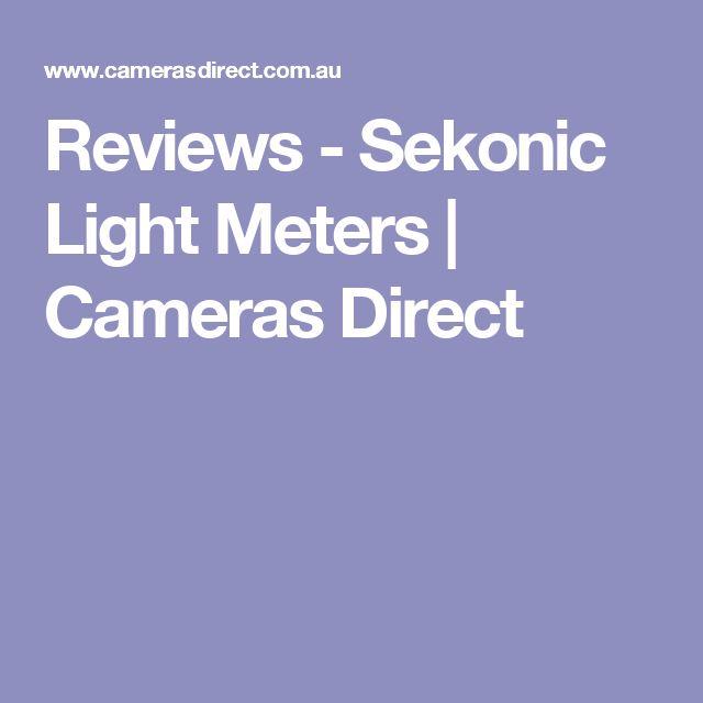 Reviews - Sekonic Light Meters | Cameras Direct