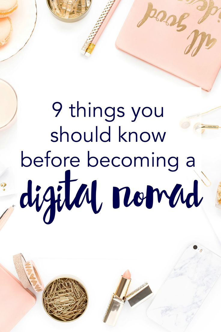 Thinking of working from anywhere? Here are 9 things you should know before becoming a digital nomad (on Think Creative Collective). Click through to learn how I navigated the move from desk bunny to digital nomad.