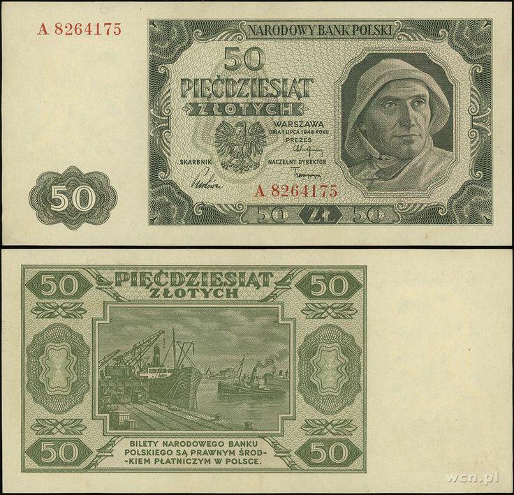 najstarsze 50 złotych