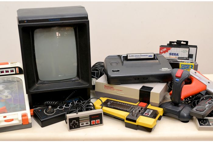 A collection of vintage video game consoles. (Pic: Supplied/ Leonard Joel)