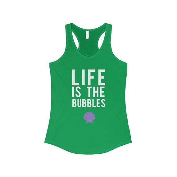 Life Is The Bubbles Little Mermaid Ariel Disney Park Shirt