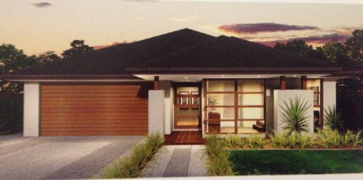 Contemporary Facade - McDonald Jones Homes.