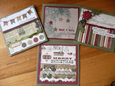 Wild About Scrap Design Team: It's Never Too Early to Make Your Christmas Cards For This Year !!!