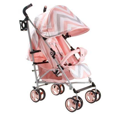 http://www.onlinetoyretailers.com/category/lightweight-stroller/ pink chevron mb02 lightweight my babiie stroller pushchair buggy