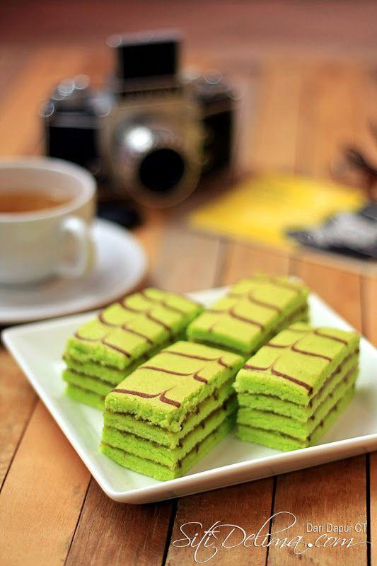 Kek Pandan Lapis Seri Kaya ~ :: Dari Dapur CT ::