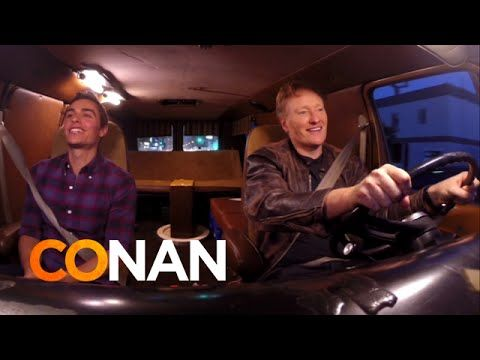 This sooooo funny! Conan O'Brien and Dave Franco Take the Tinder Dating App for a Spin