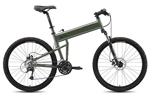Special Offers - Montague Paratrooper 18 Matte Cammy Green 24 Speed Folding Mountain Bike - In stock & Free Shipping. You can save more money! Check It (March 29 2016 at 09:16PM) >> http://cruiserbikeswm.net/montague-paratrooper-18-matte-cammy-green-24-speed-folding-mountain-bike/