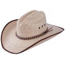 Jason Aldean Resistol Hicktown Sized Palm Leaf Cowboy Hat