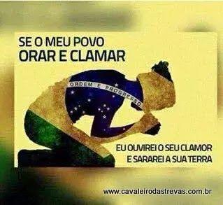 Cavaleiro das Trevas: Meu Brasil Varonil.