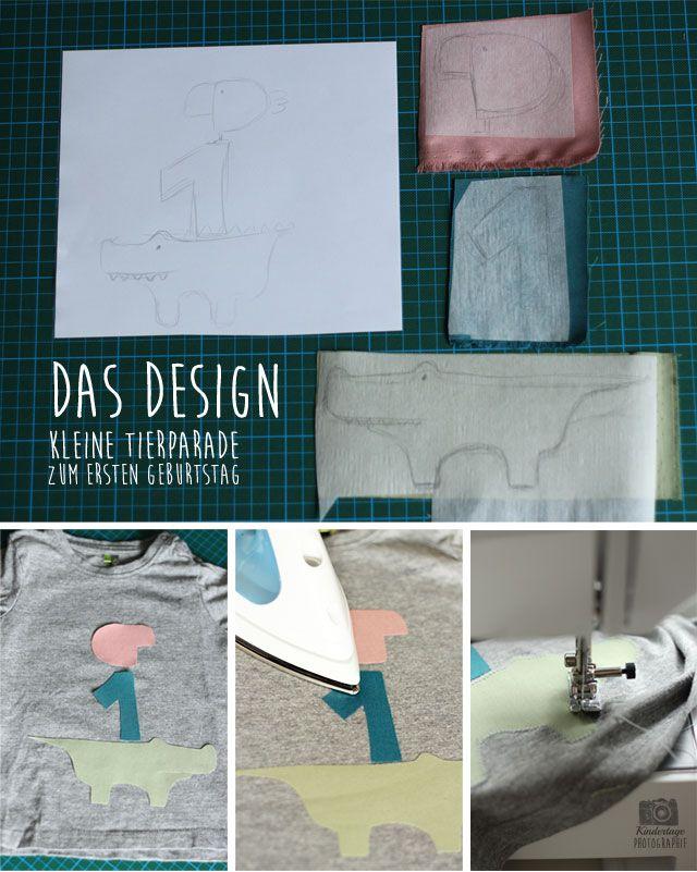 Geburtstagsshirt DIY #2 - Juppi, unsere Kleine wird 1! - Kindertage