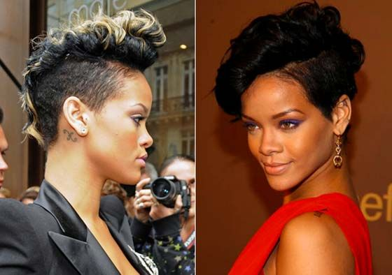 top hair styles best 10 rihanna haircut ideas on 8280