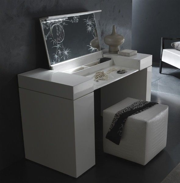 Makeup Vanity Contemporary Modern Bedroom Vanity Table