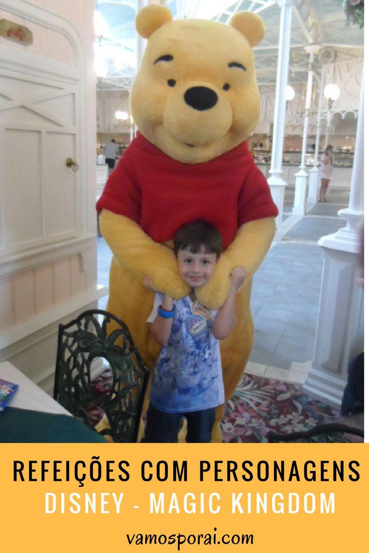 Participar de refeições com personagens na Disney é tudo de bom! No Magic Kindgom uma das opções é se divertir com a turma do Ursinho Pooh.