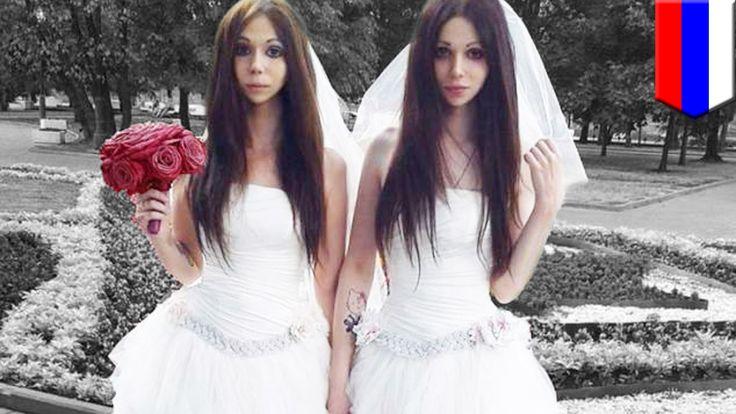 Pasgetrouwd heterostel lijkt een identieke tweeling