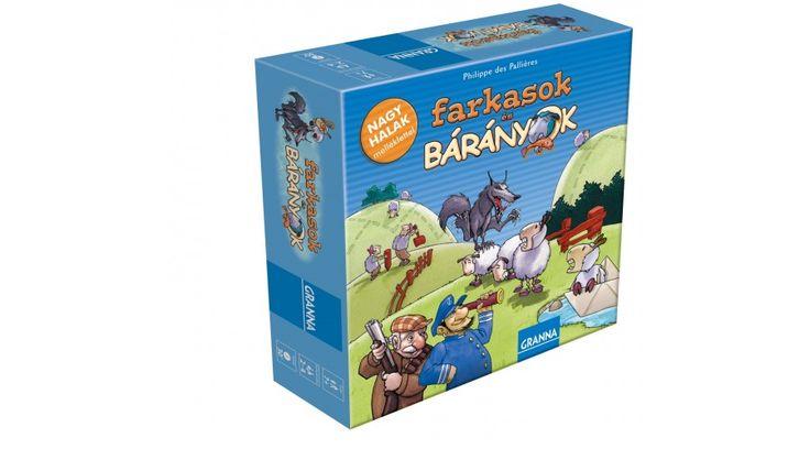 Farkasok és bárányok - LÁNY játékok - Fejlesztő játékok az Okosodjvelünk webáruházban