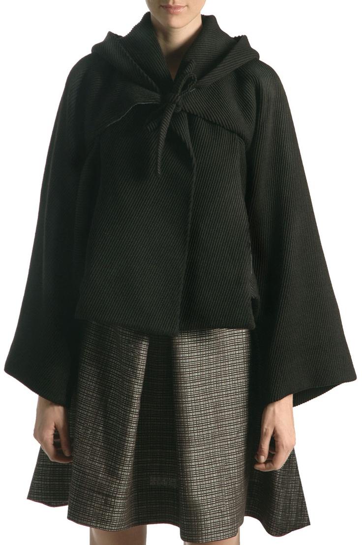 Venette Waste - Waste Couture - 3Angles cape