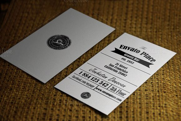 Check out Retro Business card by Quality prints & graphics on Creative Market