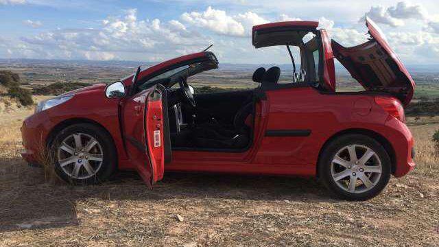 Peugeot 207 Cc 1 6 Vti Peugeot Lleida Convertible