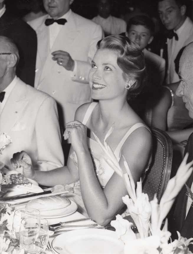 Princess Grace at Monaco's Red Cross Ball, August 1958.