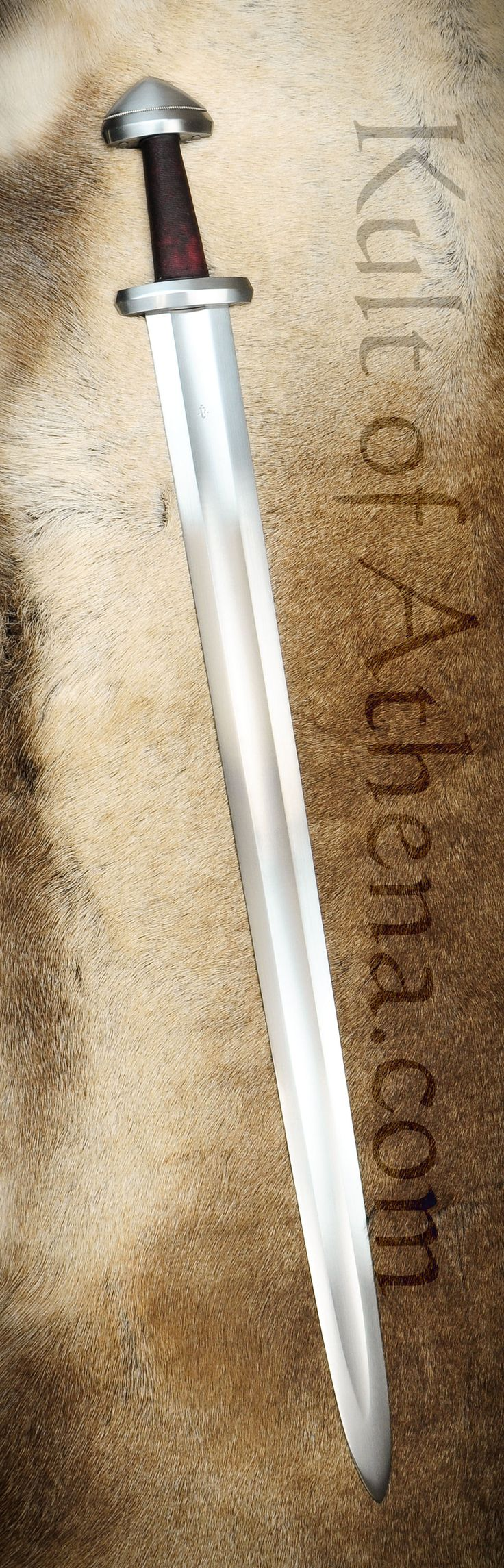 Albion Hersir Viking Sword, I'd take one of these over that Japanese katana bullshit any day. This is a real man's sword.