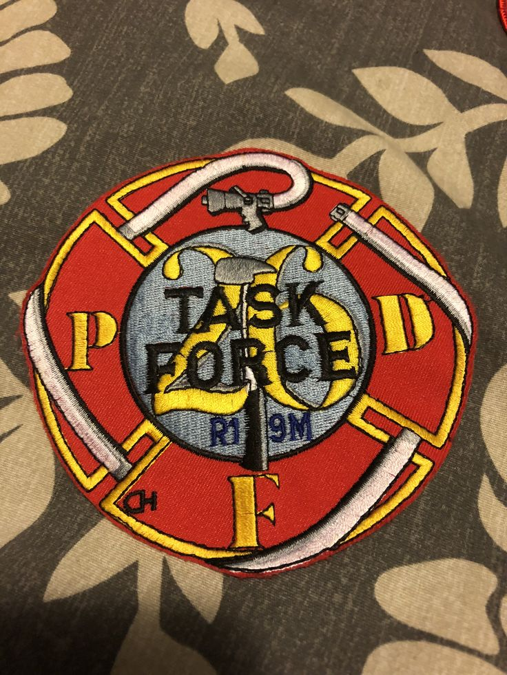 Task Force 26 Rescue 19M Firefighter, Vehicle logos