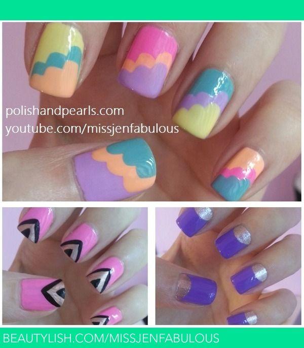 Nail Art For Short Nails Beginners: Best 25+ Beginner Nail Art Ideas On Pinterest
