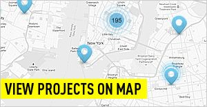 see projects on map