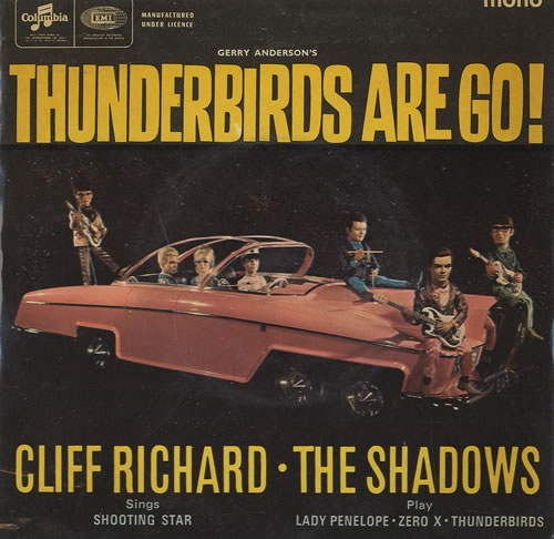 Cliff Richard, Thunderbirds, Gerry Anderson